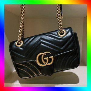 💥Gucci💥 GG Mini Marmont Matelasse Shoulder Bag Crossbody Bag